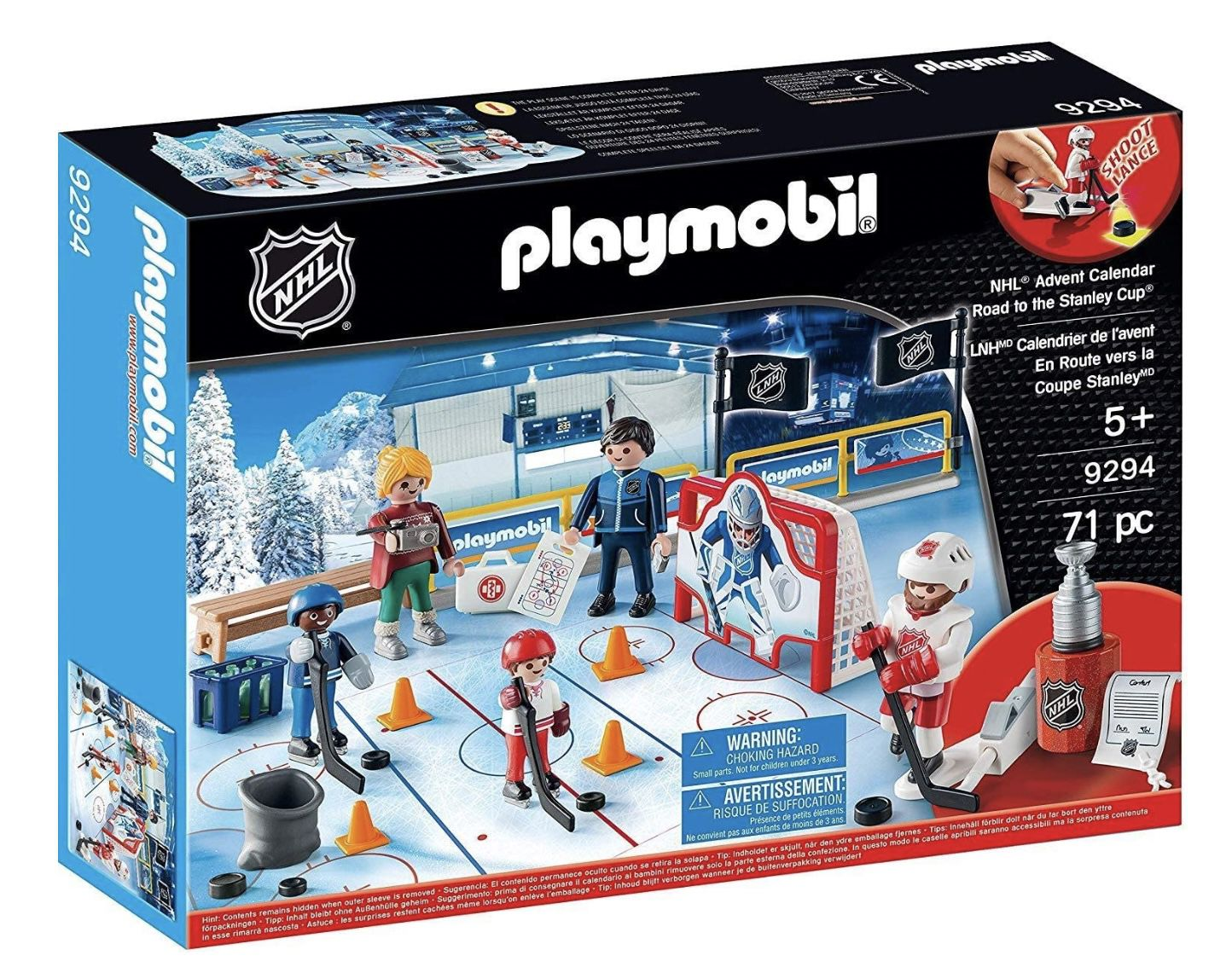 Playmobil 9294 Eishokey Adventskalender für 12,45€ (statt 19€)   Prime
