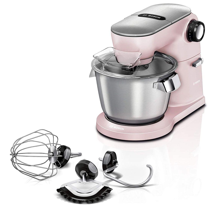 Bosch Küchenmaschine OptiMUM MUM9A66N00 mit 7 Arbeitsstufen in Rosa für 259,15€ (statt 424€)