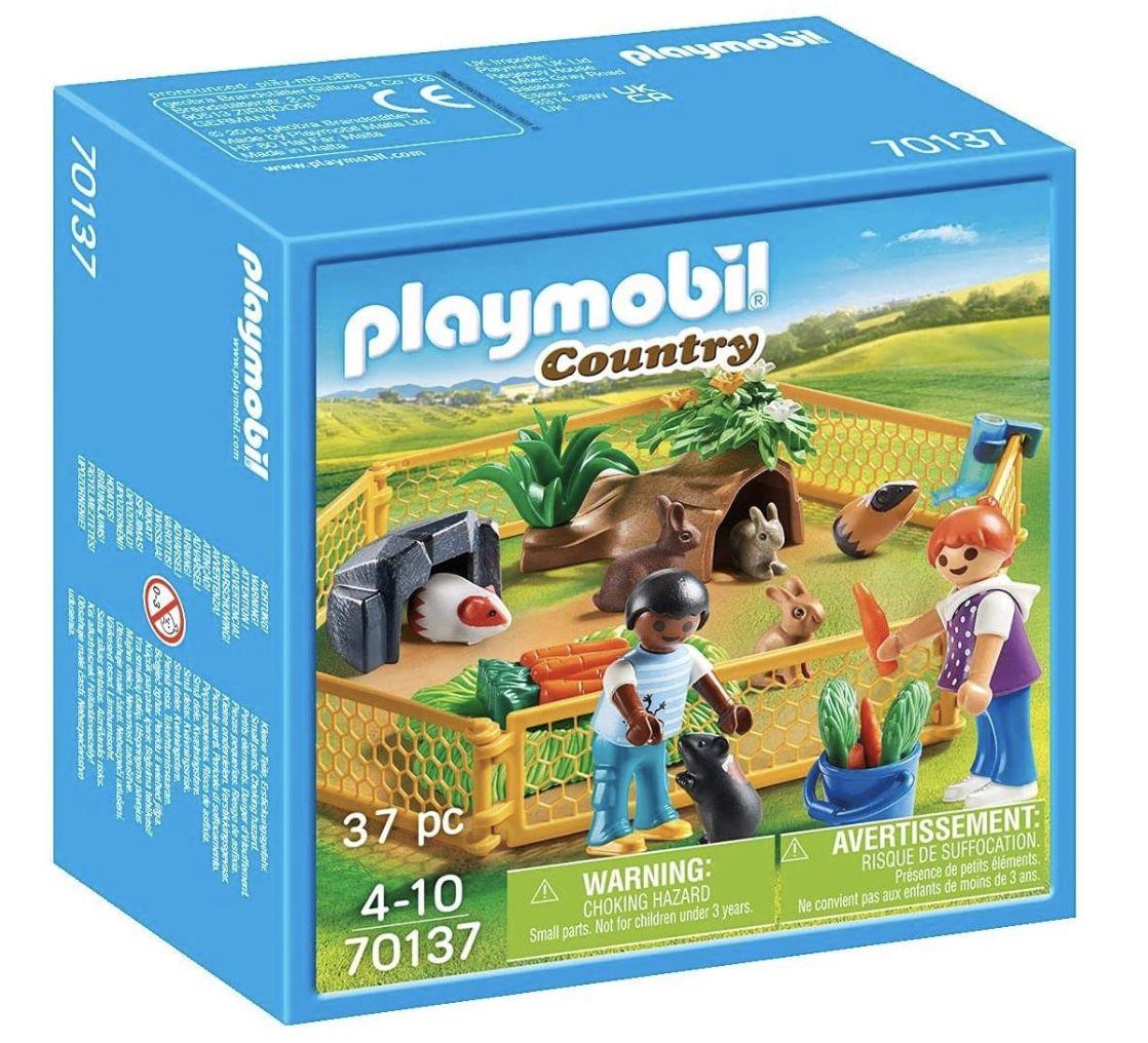 Playmobil Country 70137 Kleintiere im Freigehege für 7,99€ (statt 12€)   Prime