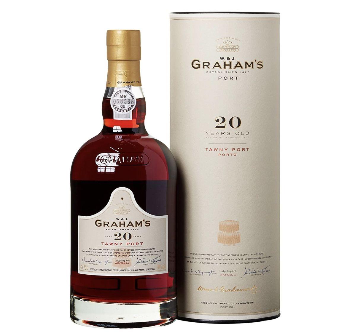 3 x 0,75l Graham's Tawny Port 20 Years Portwein für 100€ (statt 117€)