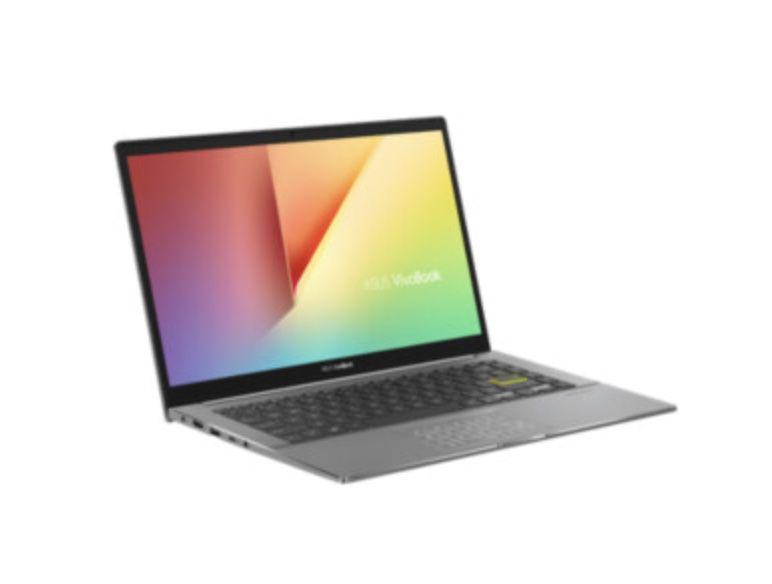 Asus VivoBook S14 S433 S433IA-HM942T mit 512GB SSD und 8 GB RAM in Silber für 499,90€ (statt 587€)