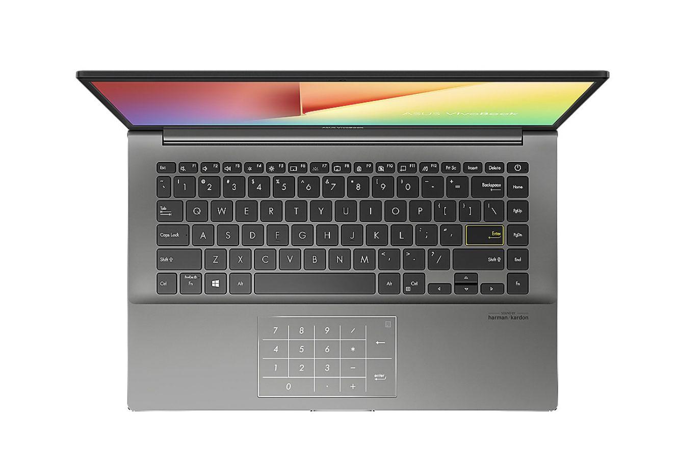 Asus VivoBook S14 S433 S433IA HM942T mit 512GB SSD und 8 GB RAM in Silber für 499,90€ (statt 569€)