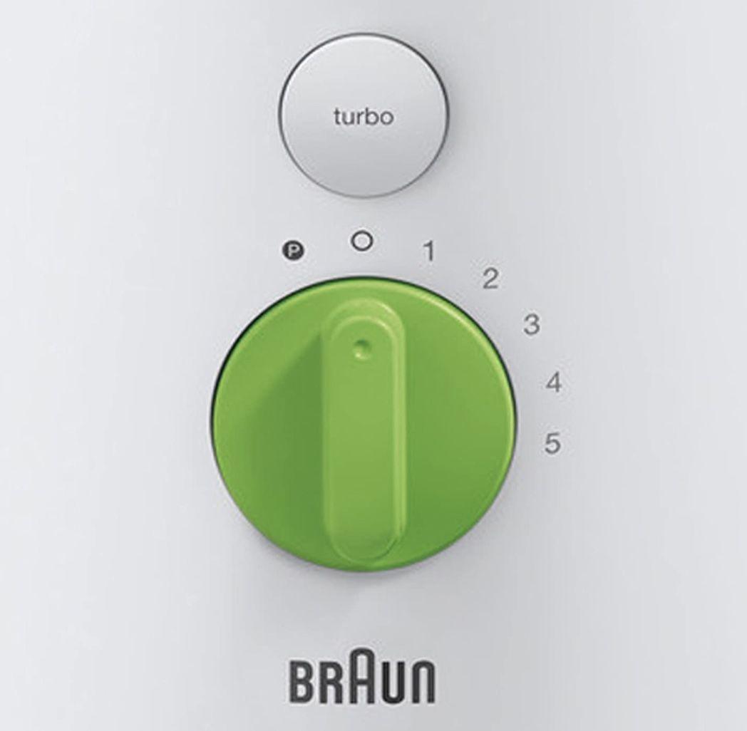 Braun JB 3060 Tribute Collection 1,75L Standmixer in Weiß/Grün für 32,89€ (statt 64€)