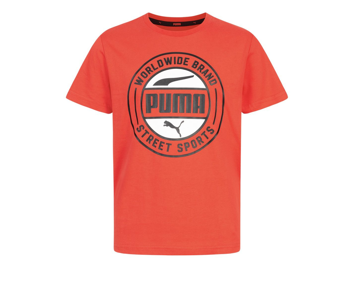 PUMA 583011 11 Alpha Summer Kinder T Shirt in Rot für 7,77€ + VSK (statt 14€)