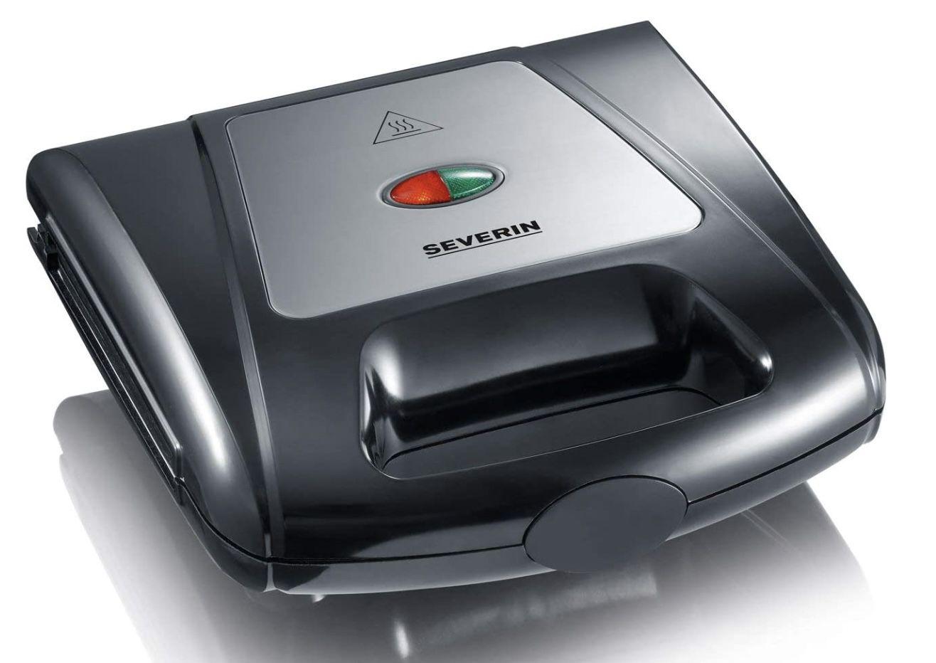 Severin SA 2968 Multi Sandwich Toaster in Schwarz Chrom für 29,89€ (statt 35€)