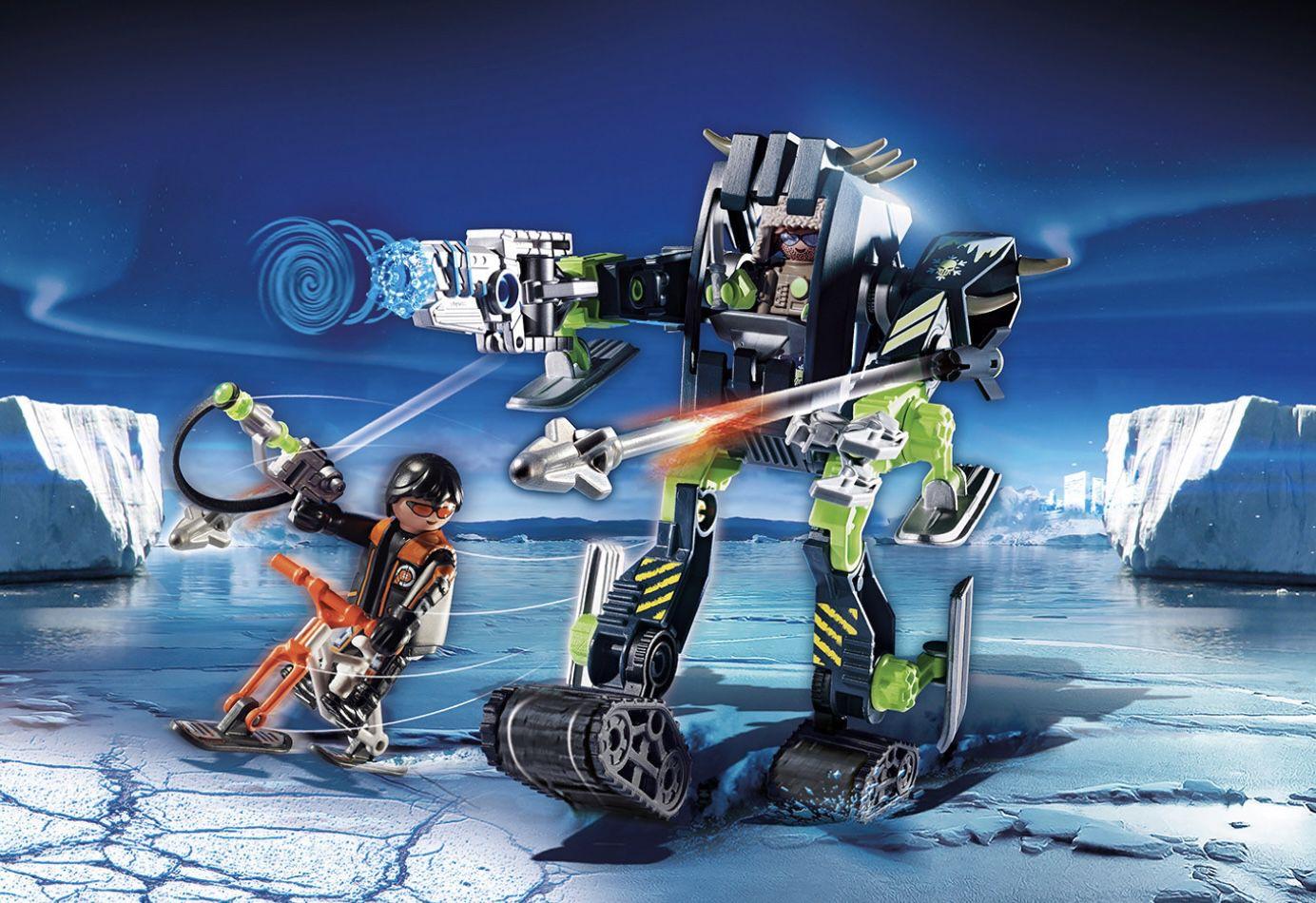 PLAYMOBIL 70233 Top Agents Arctic Rebels Eisroboter für 13,50€ (statt 18€)   Prime