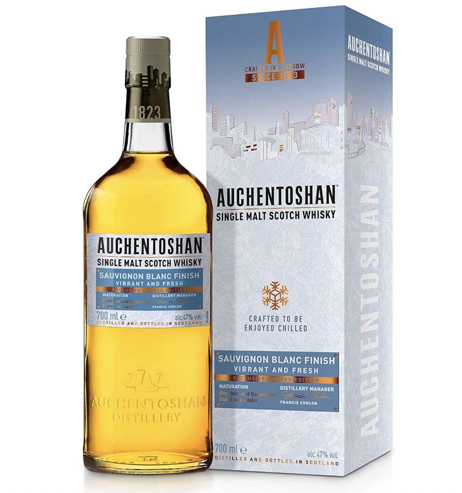 1 x 0,7l Auchentoshan Single Malt Whisky Sauvignon Blanc für 31,49€ (statt 35€)