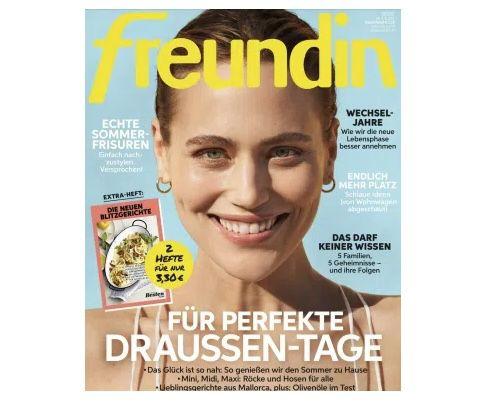 """24 Ausgaben der """"Freundin"""" für 86,40€ – Prämie: 85€ Amazon Gutschein"""
