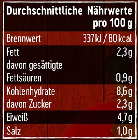 5x Dreistern Chili con Carne (je 1.200g) für 14,21€ (statt 19€)   Prime Sparabo