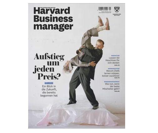 6 Ausgaben Harvard Business manager für 87€ + Prämie: 75€ Amazon Gutschein