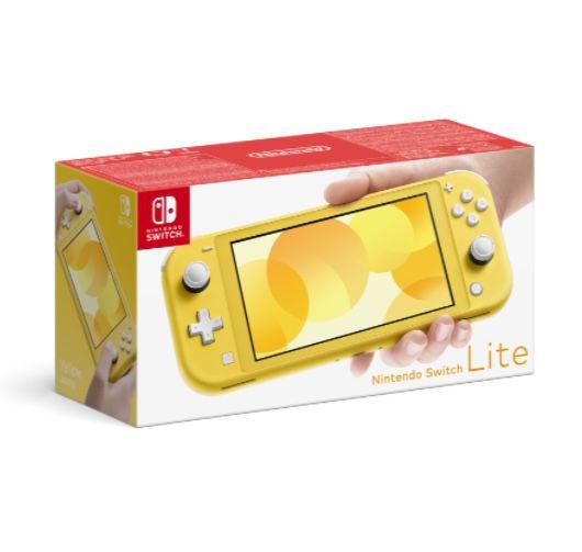 Nintendo Switch Lite in Gelb für 169,99€ (statt 196€)