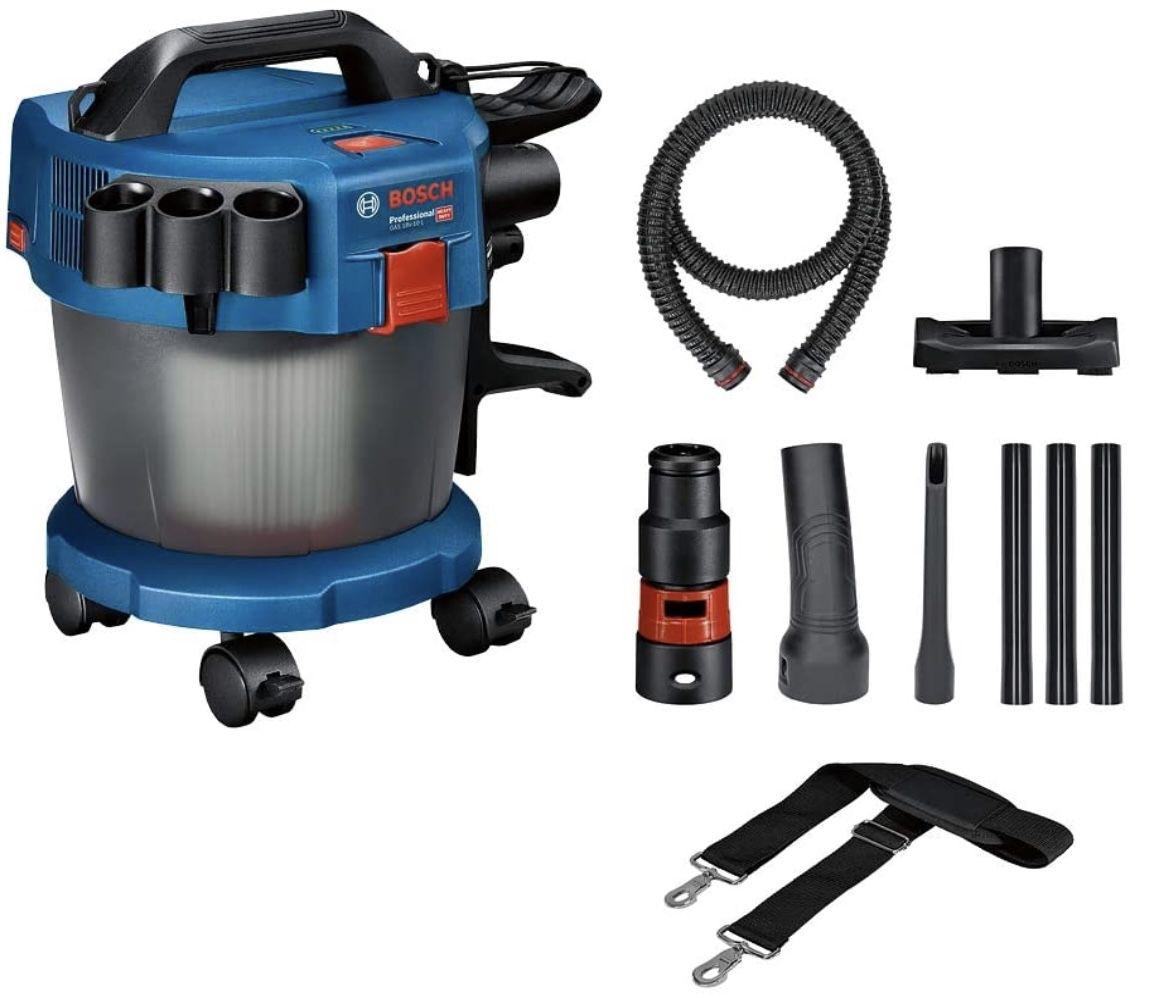 Bosch GAS 18V 10 L Professional 18V System Akku Nass /Trockensauger (ohne Akku/Ladegerät) für 81,99€ (statt 104€)