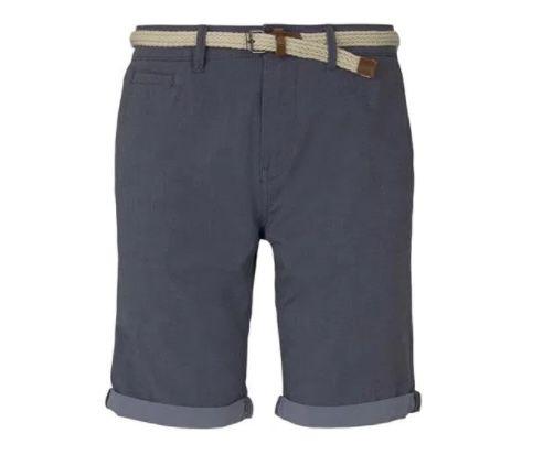 3er Pack Tom Tailor Denim Chino Shorts mit Gürtel für 50€ (statt 72€)