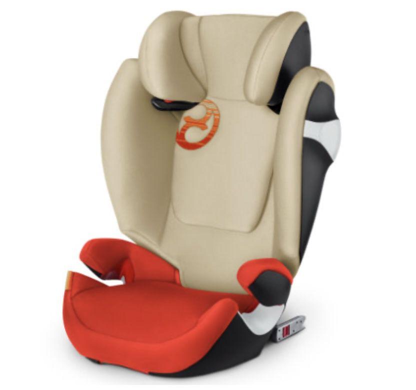 cybex GOLD Kindersitz Solution M-fix in Autumn Gold-burnt Red für 114,99€ (statt 149€)