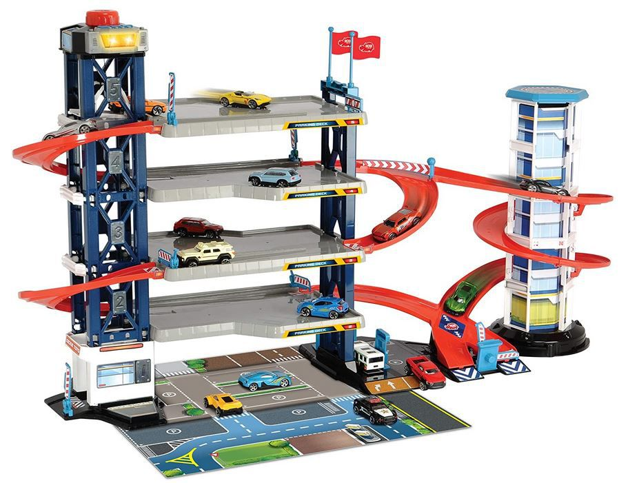 Dickie Park Garage + 5 Fahrzeuge für 24,94€ (statt 38€)