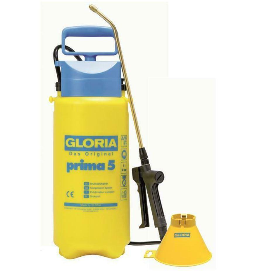 Gloria Prima5 39TE – 5 Liter Drucksprühgerät inkl. Sprühschirm Typ 280 für 19,99€ (statt 26€)