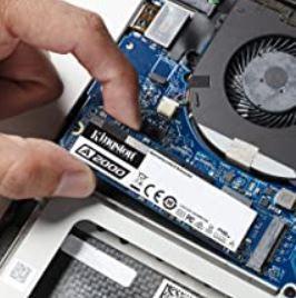 Kingston A2000 500GB NVMe PCIe SSD M.2 für 44,99€ (statt 52€)
