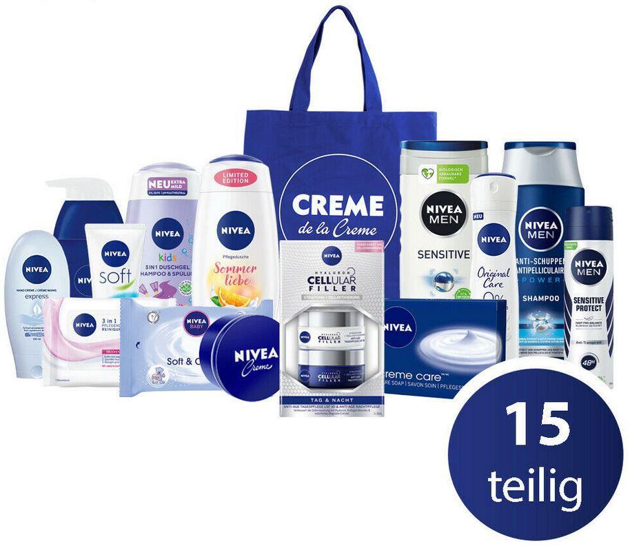 NIVEA Sommerset mit Tasche & Pflegeprodukten für 29,99€ (statt 35€)