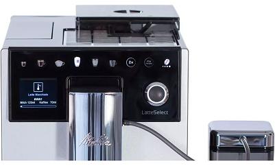 Melitta Latte Select F63/0 201 Kaffeevollautomat für 689€ (statt 769€)   Media Markt Club