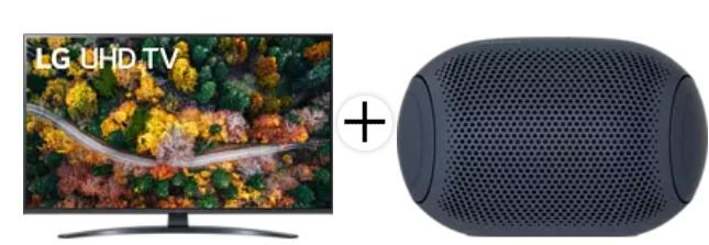 Media Markt Saturn: Best of LG z.B. LG 43UP78009 TV + LG PL2 Xboom Go Lautsprecher für 448,90€ (statt: 608€)