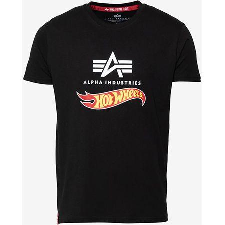 """Alpha Industries """"Hot Wheels"""" T-Shirt in schwarz für 23,90€ (statt 30€)"""
