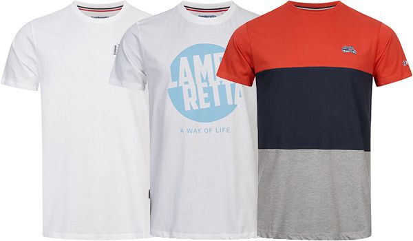 Lambretta Target Herren T Shirts in vielen verschiedenen Designs für je 12,98€ (statt 19€)