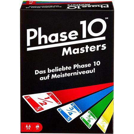 """Mattel """"FPW34"""" Phase 10 Masters – Kartenspiel für 8,49€ (statt 18€)"""