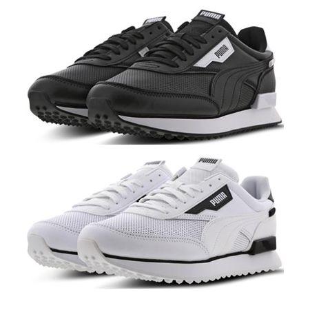 Puma Future Rider Contrast Herrensneaker in Schwarz oder Weiß für 49,99€ (statt 64€)