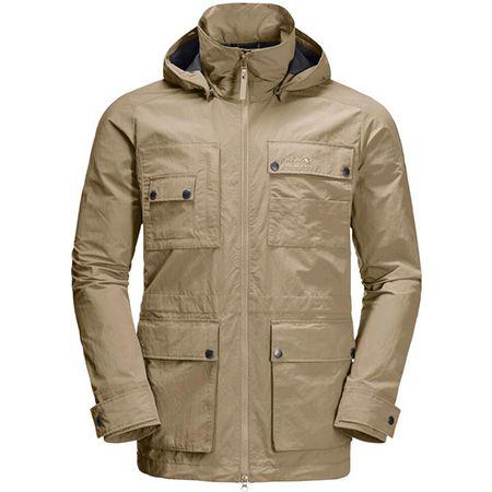 Jack Wolfskin Lakeside Safari Jacket M in Sandfarben für 92,90€ (statt 110€)