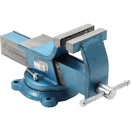 BGS 59110 geschmiedeter Stahl-Schraubstock 100 mm für 52,19€ (statt 73)