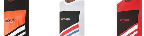 Young and Reckless T Shirt in drei Farben zu je 12,85€ (statt 25€)