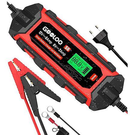 GOOLOO S6 – 6A Autobatterieladegerät 6V/12V für 39,19€ (statt 60€)
