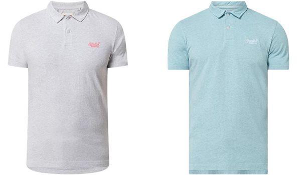 Superdry La Beach Jersey Poloshirt in verschiedenen Farben für 33,99€ (statt 42€)