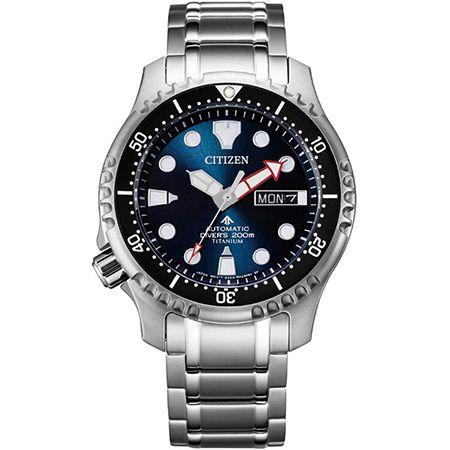 Citizen Titan-Herrenuhr Marine – NY0100-50ME für 279,20€ (statt 345€)