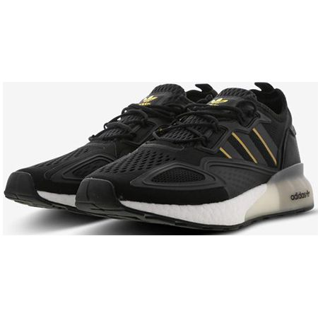 adidas ZX 2K Boost Herren Sneaker in Black-Bright Royal für 69,99€ (statt 109€)
