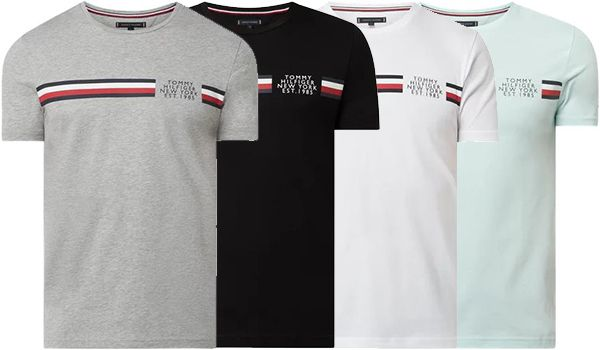 Tommy Hilfiger Signature Detailing T Shirt in vielen Farben für 25,49€ (statt 30€)