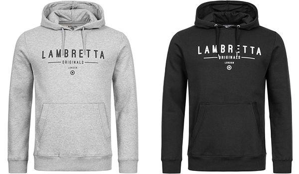 Lambretta   Herren Hoodies in vier Farben für je 22,94€ (statt 45€)