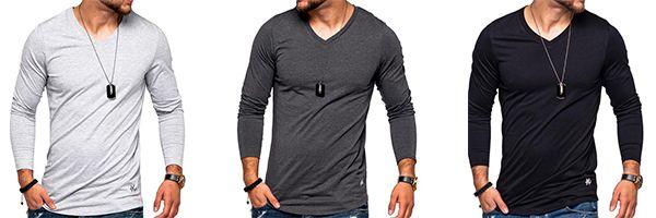 Jack & Jones Herren Langarmshirt Infinity in verschiedenen Farben für 13,99€ (statt 18€)
