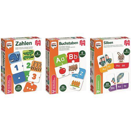 Jumbo – Ich lerne Zahlen, Buchstaben und Silben – Lernspiele für 24,98€ (statt 30€)