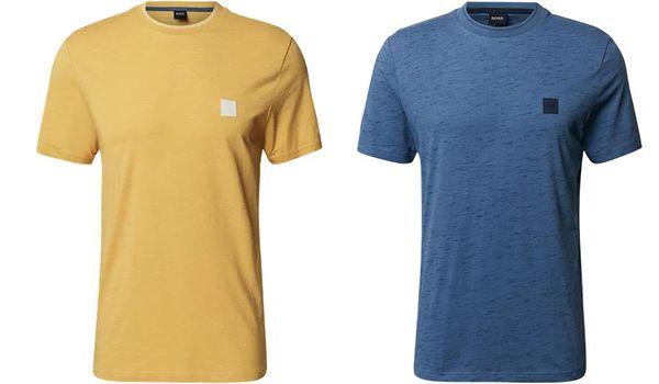 BOSS Casualwear T Shirt Temew in vier verschiedenen Farben für 38,24€ (statt 45€)