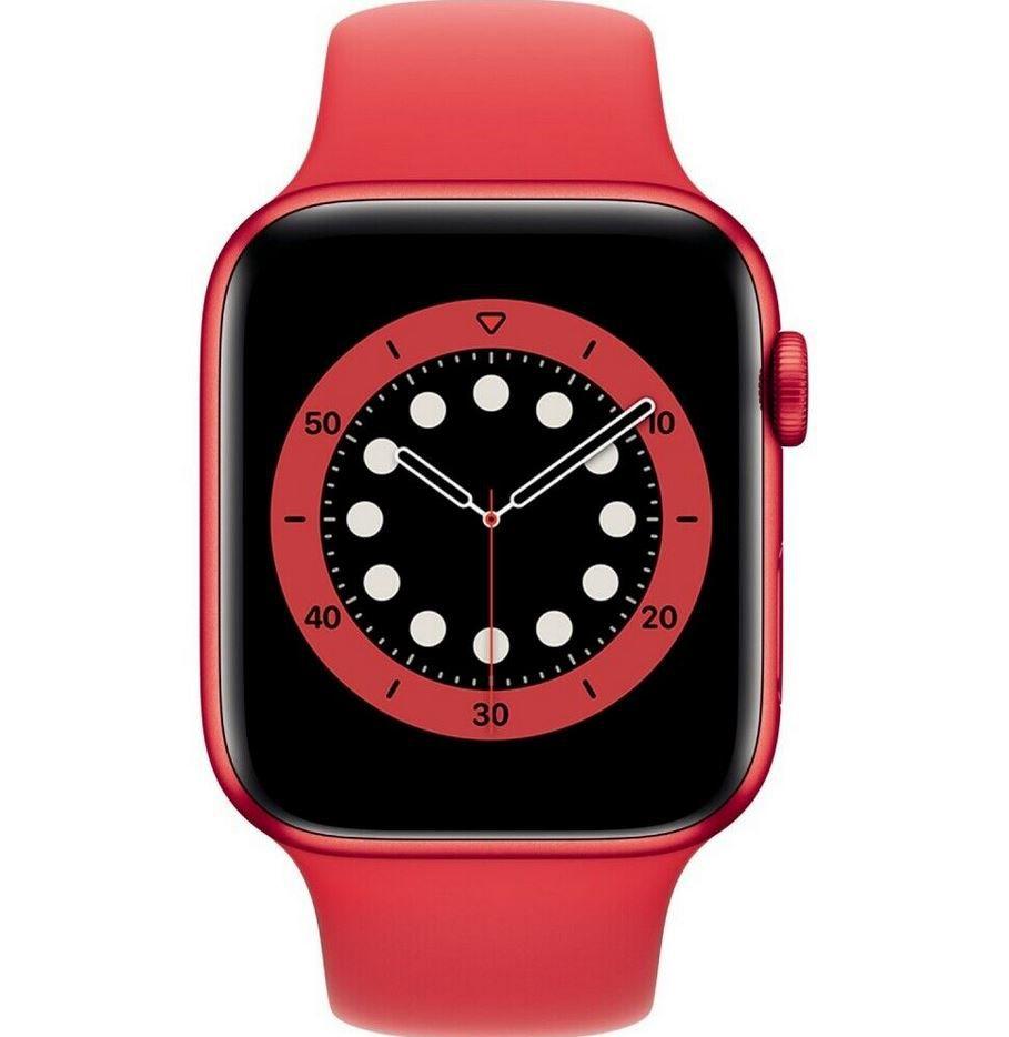 Apple Watch Nike Series 6 GPS 44mm in Rot für 359,90€ (statt 375€)