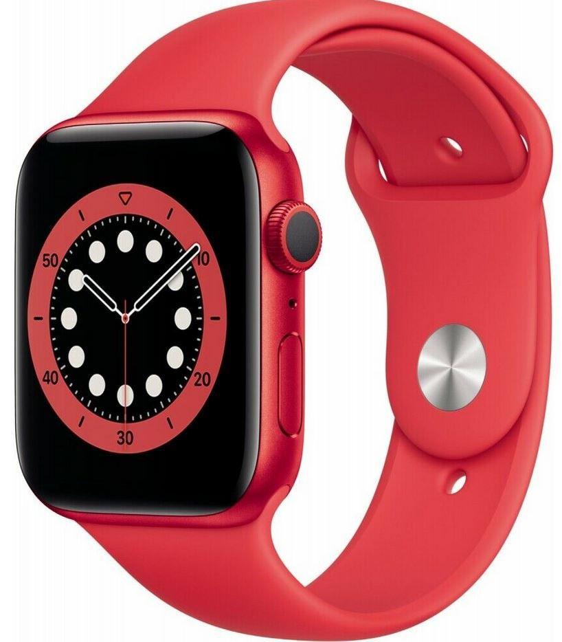 Apple Watch Nike Series 6 GPS 44mm in Rot für 379,90€ (statt 395€)