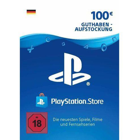 100€ PlayStation Store Guthaben für nur 78€