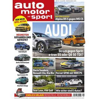 6 Ausgaben auto motor und sport für einmalig 5,95€ (statt 27,60€) – automatisch auslaufend!