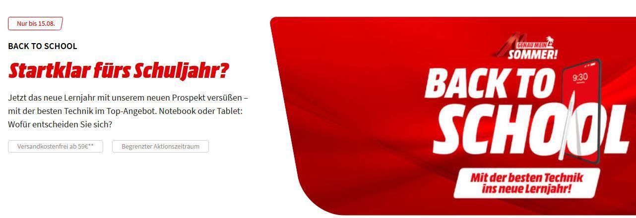 MediaMarkt back to School Aktion: z.B. Corsair K60 RGB PRO Mechanische Gaming Tastatur für 79€ (statt 115€)