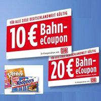 10€ bzw. 20€ Bahn-eCoupon mit Storck sichern