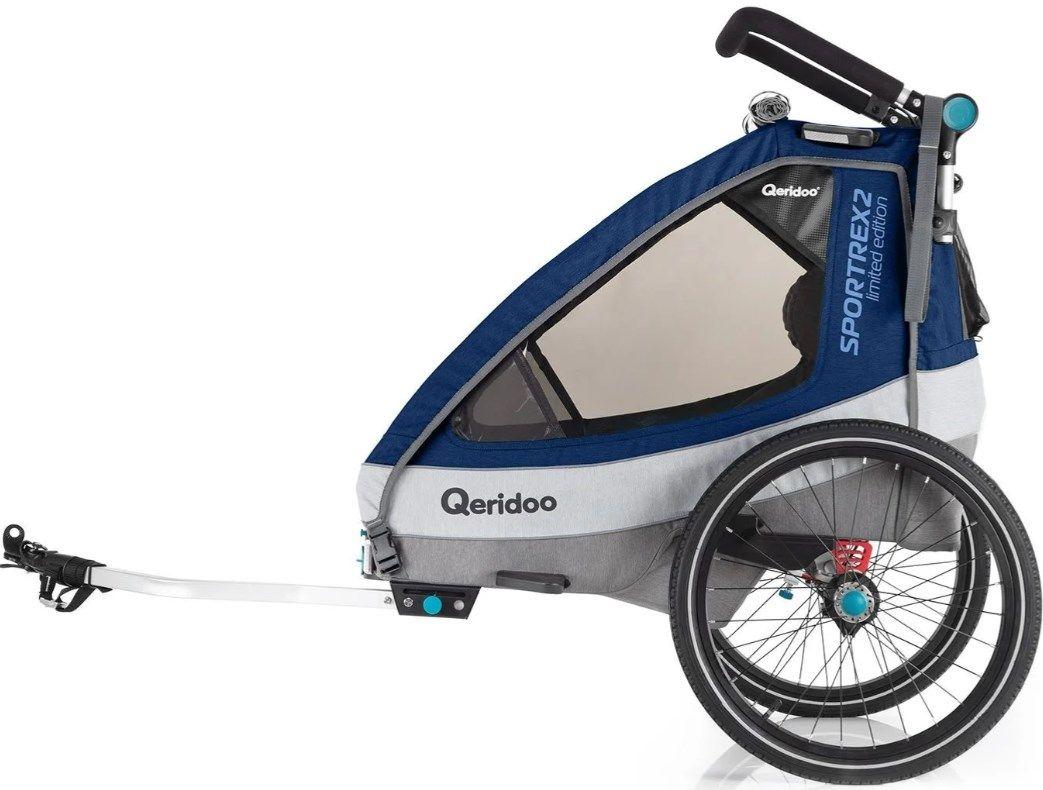 Qeridoo Kinderfahrradanhänger   Sportrex2 Limited Edition ab 349,00€ (statt 439€)