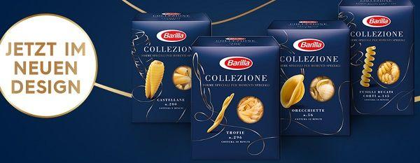 0,50€ Rabatt Coupon mit Kauf von Barilla Pasta Collezione erhalten sowie Chance auf einen FIAT 500C Hybrid Cabrio