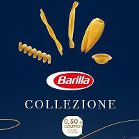 0,50€ Rabatt-Coupon mit Kauf von Barilla Pasta Collezione erhalten sowie Chance auf einen FIAT 500C Hybrid-Cabrio