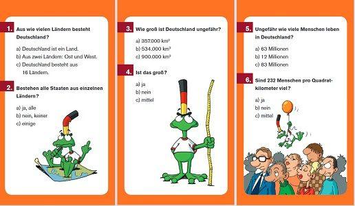 Deutschland Quiz kostenlos erhältlich